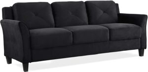 Lifestyle Solutions Collection Grayson Micro-fabric Sofa,
